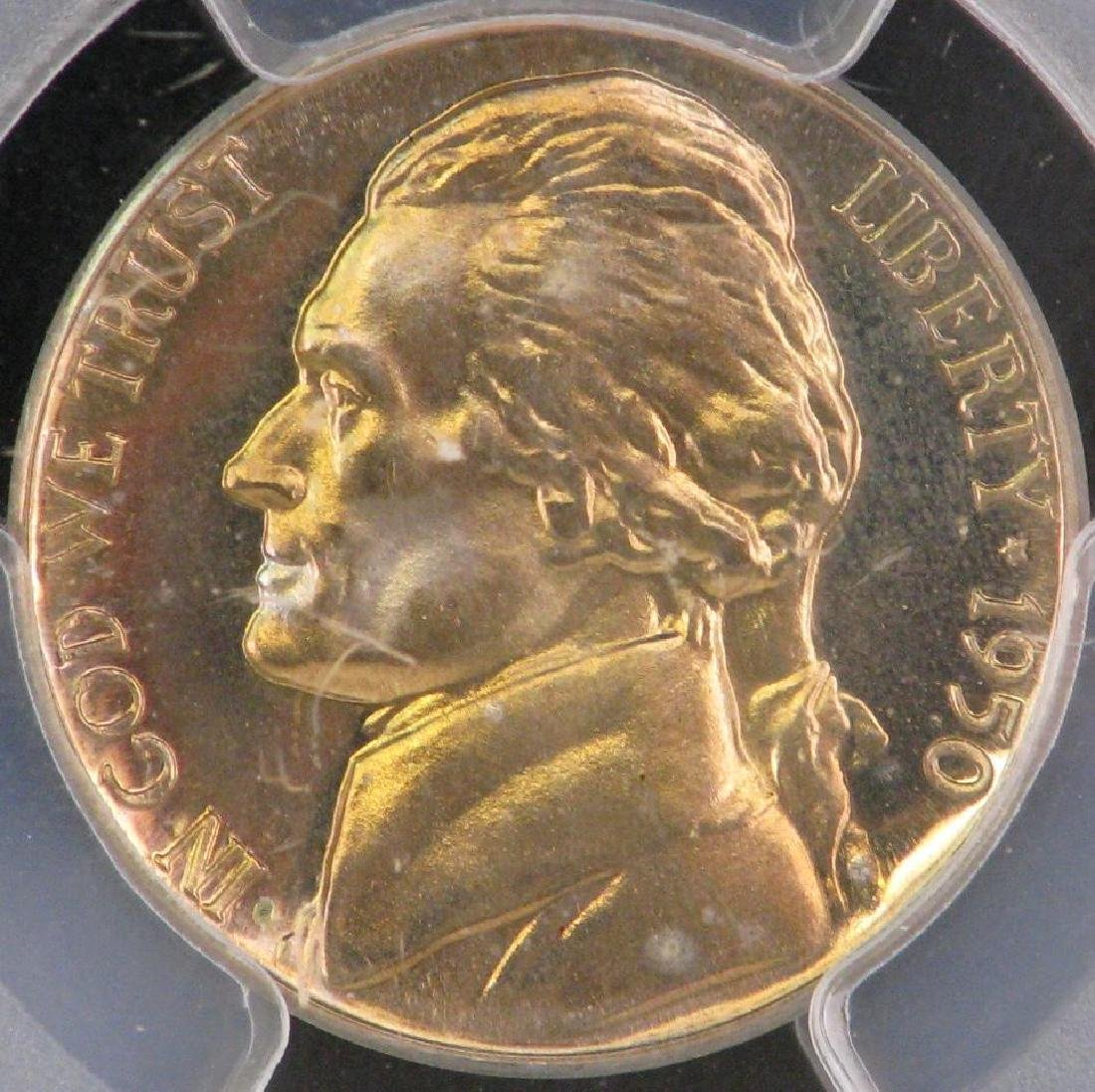 Lot of 2 : Jefferson Nickels (1950-P + 1965-P) - 8