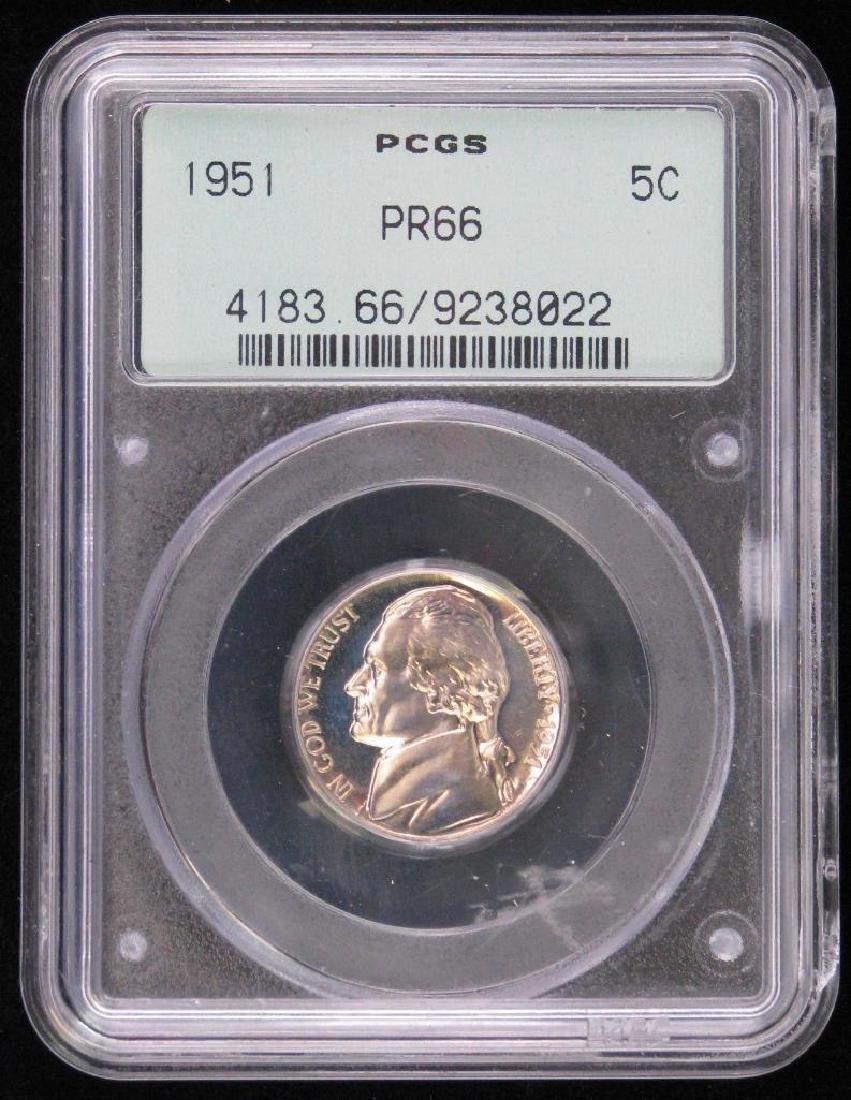 Lot of 3 : Jefferson Nickels (1947-S, 1951-P, 1989-S) - 10