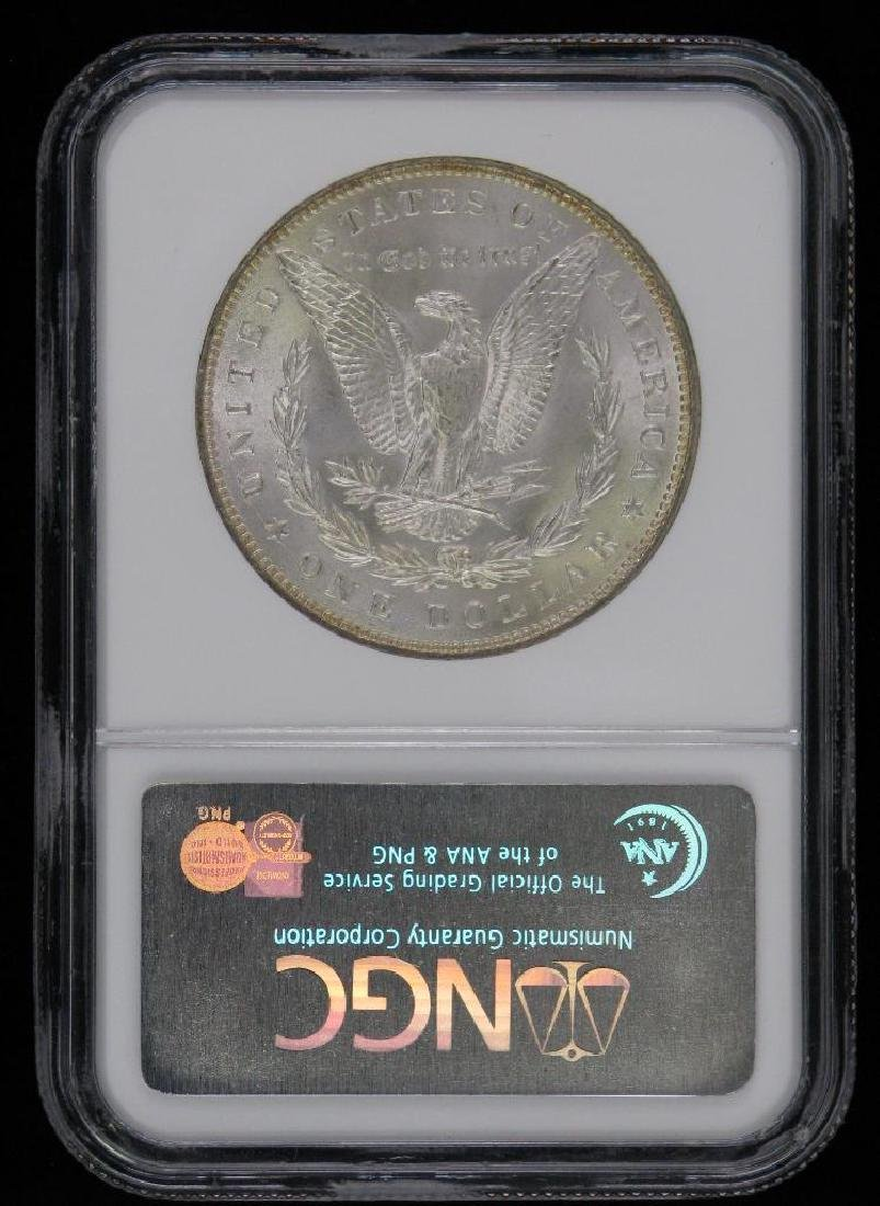 Lot of 2 : Morgan Dollars (1887-P; 1889-P) - 4
