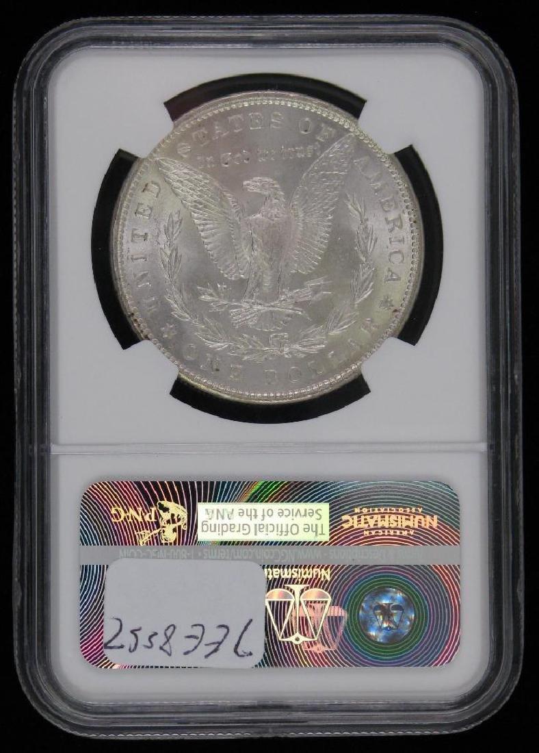 Lot of 2 : Morgan Dollars (1887-P; 1889-P) - 5