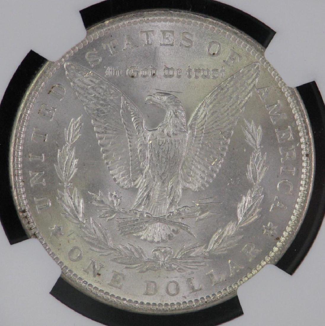 Lot of 2 : Morgan Dollars (1887-P; 1889-P) - 7