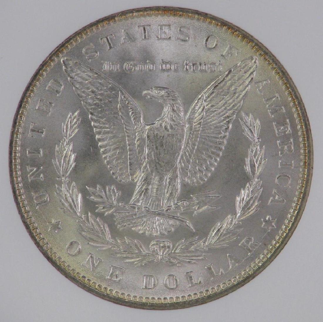 Lot of 2 : Morgan Dollars (1887-P; 1889-P) - 9