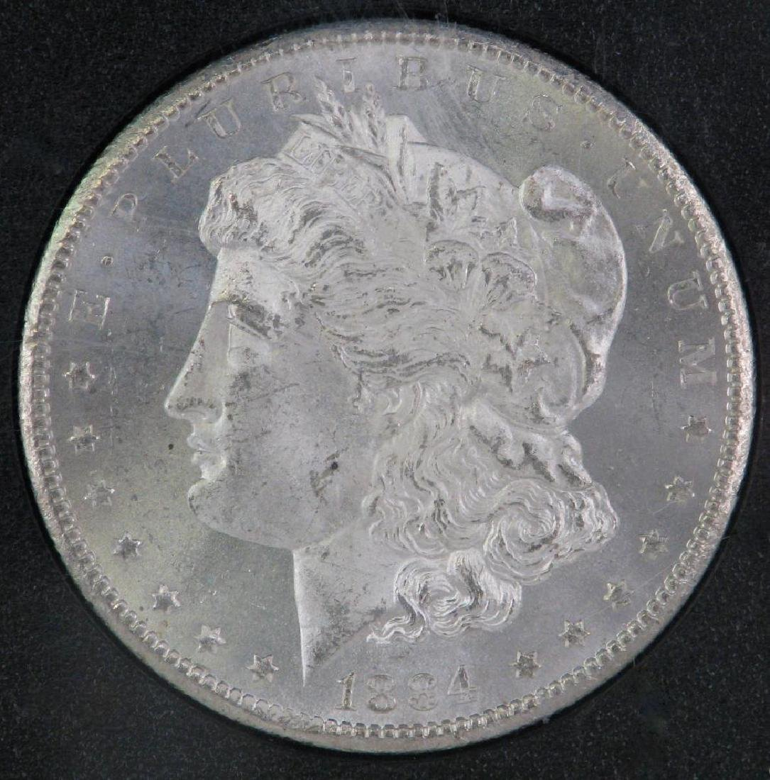 1884-CC Morgan Dollar : GSA Hoard