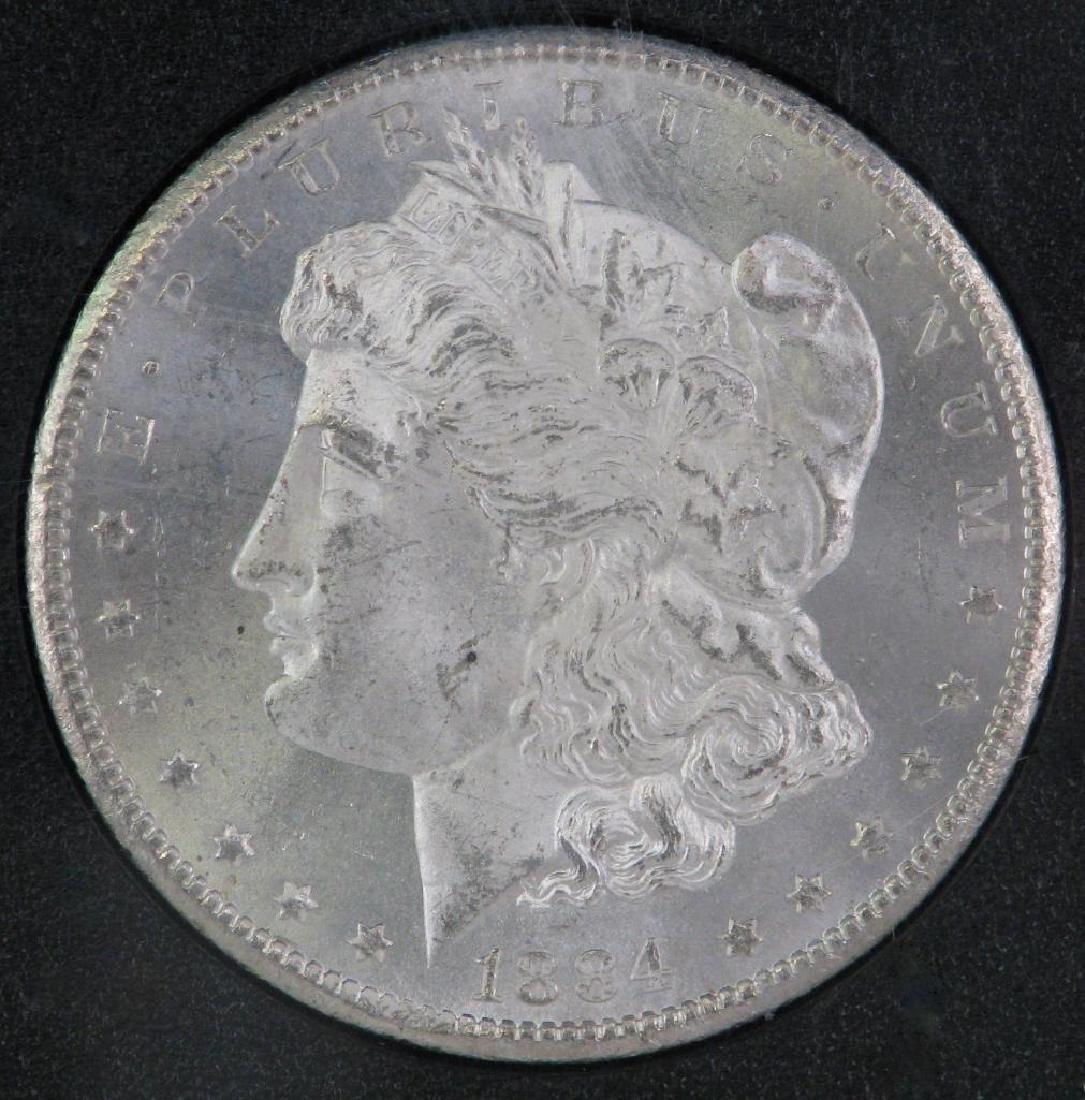 1884-CC Morgan Dollar : GSA Hoard