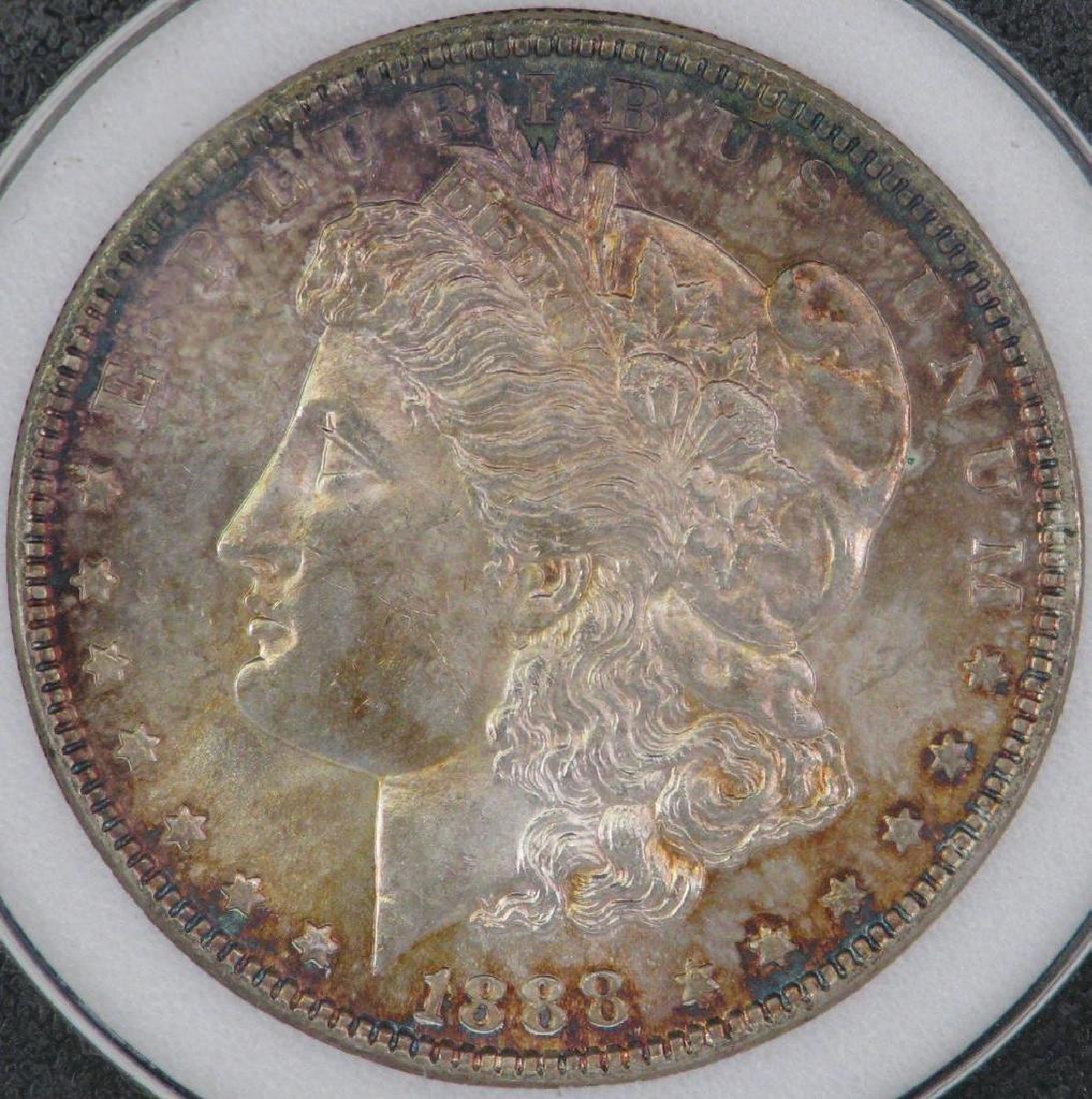 1888-P Morgan Dollar NCI MS63 - 4