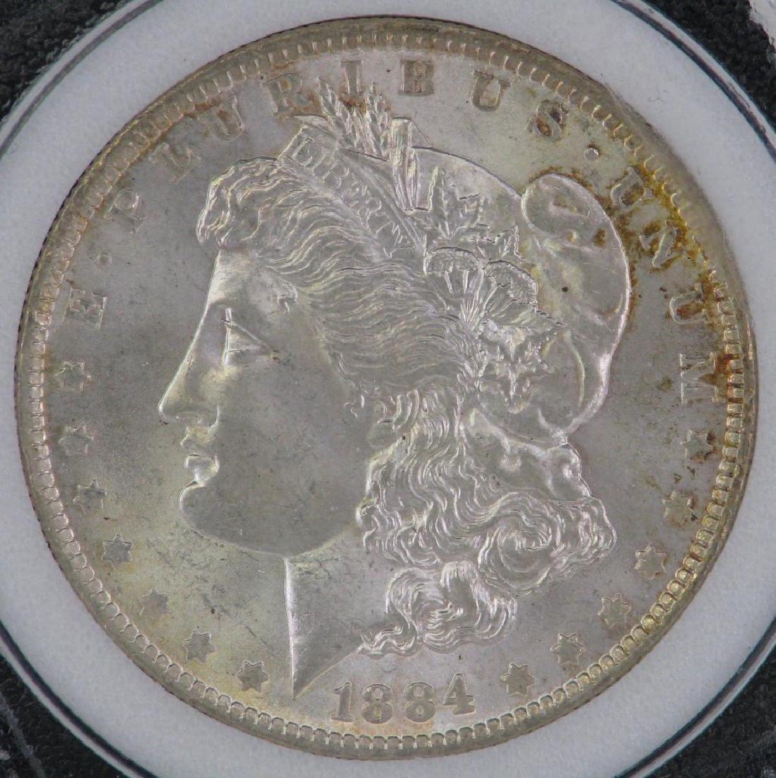1884-OÊMorgan Dollar NCI MS63 - 4