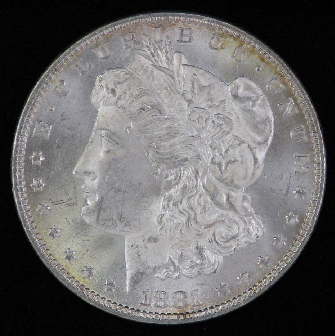 1881-P Morgan Dollar BU