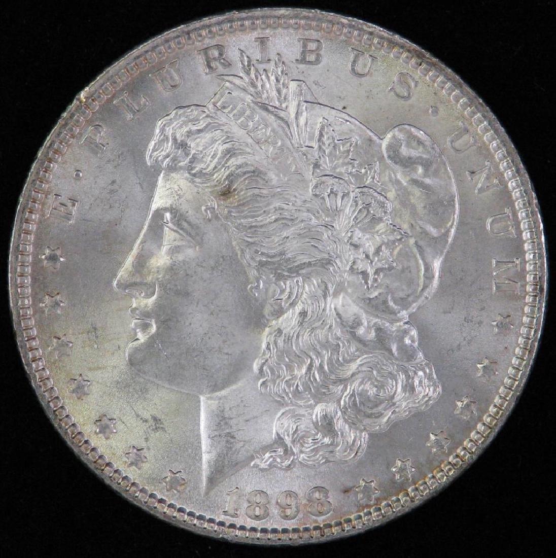 1898-P Morgan Dollar BU