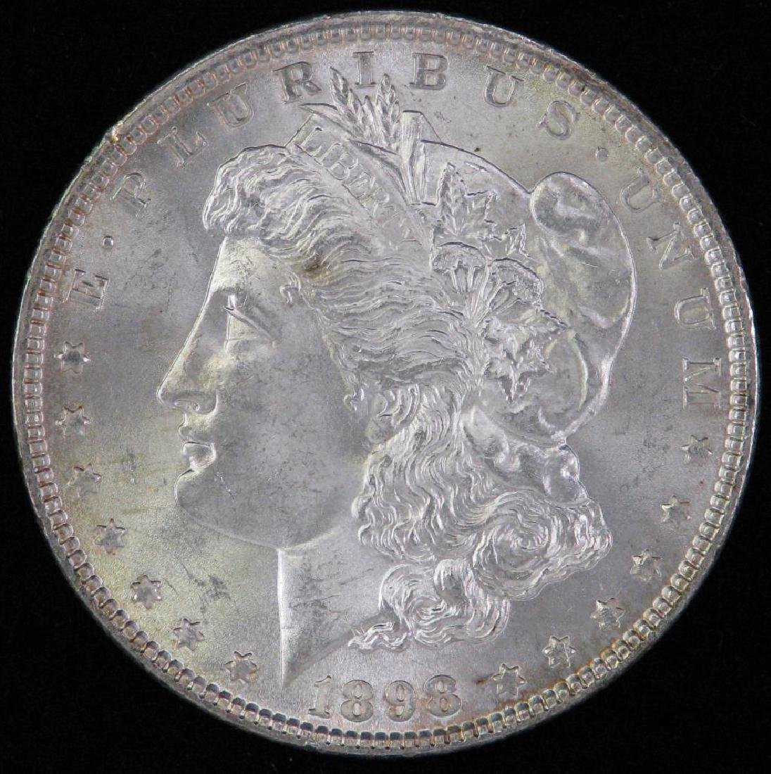 1898-P Morgan Dollar BU