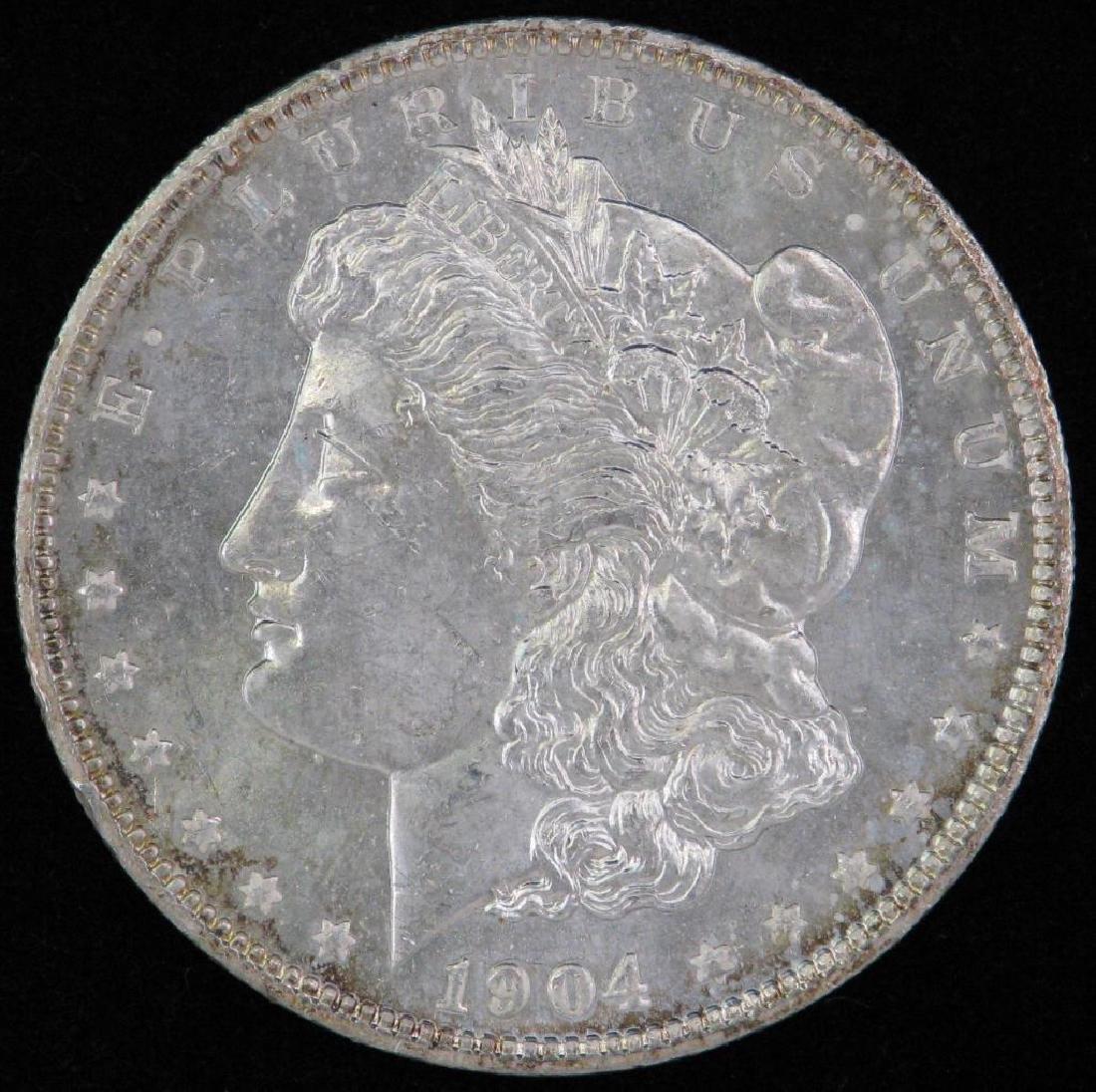 1904-O Morgan Dollar BU