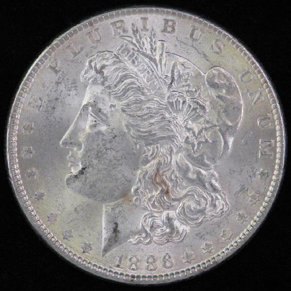 1886-P Morgan Dollar BU
