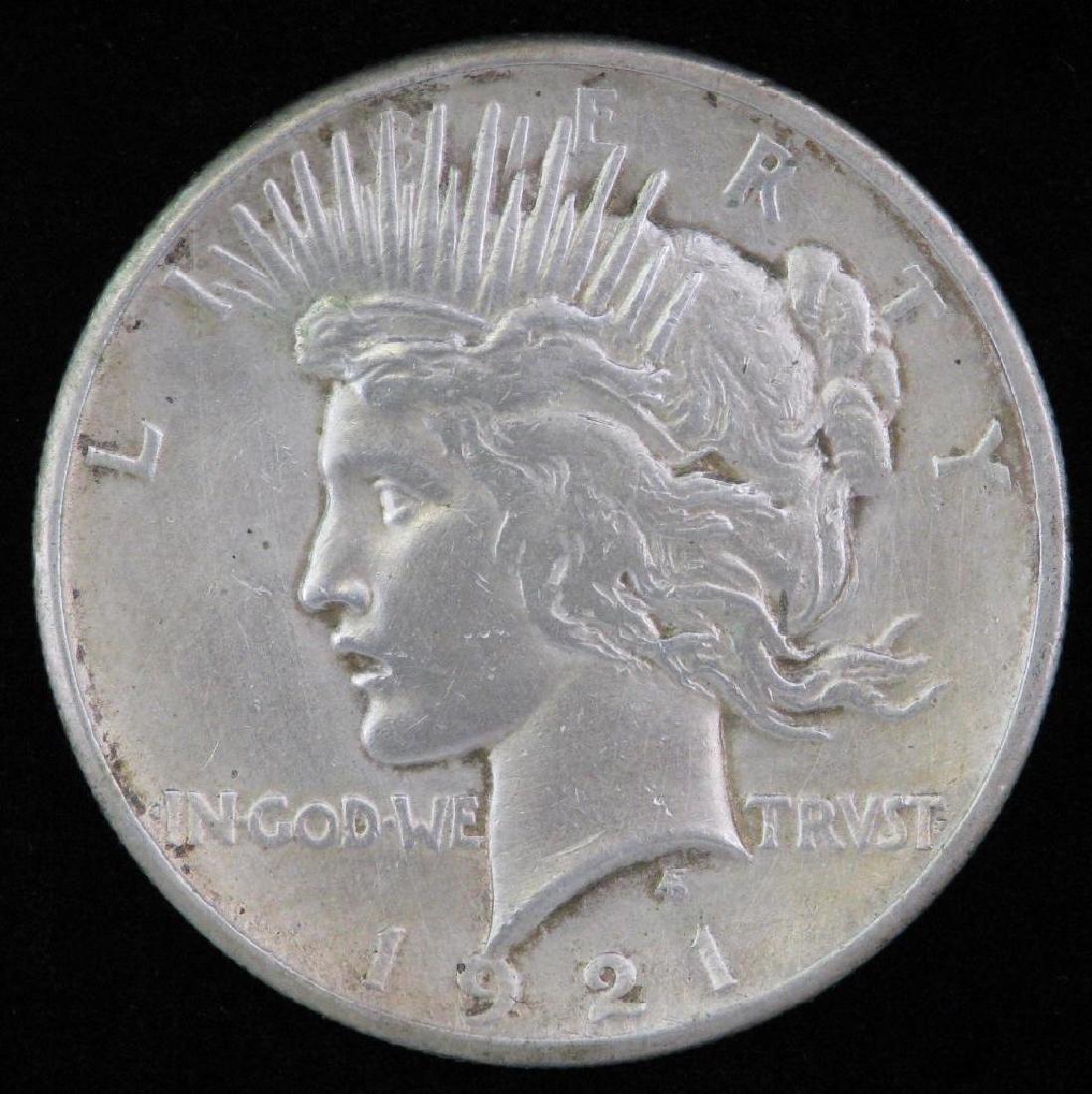 1921-P Peace Dollar