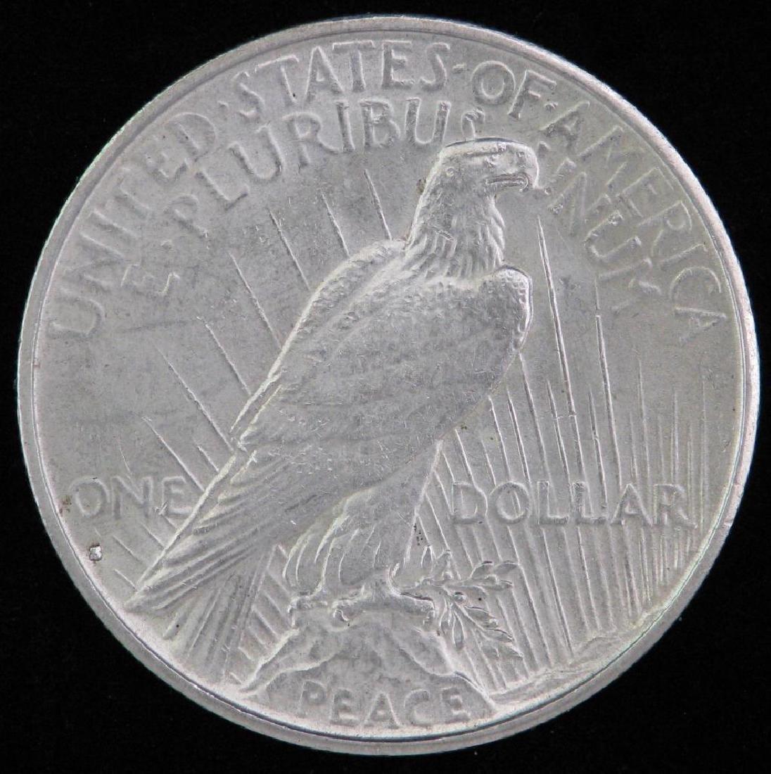 1935-S Peace Dollar BU - 2