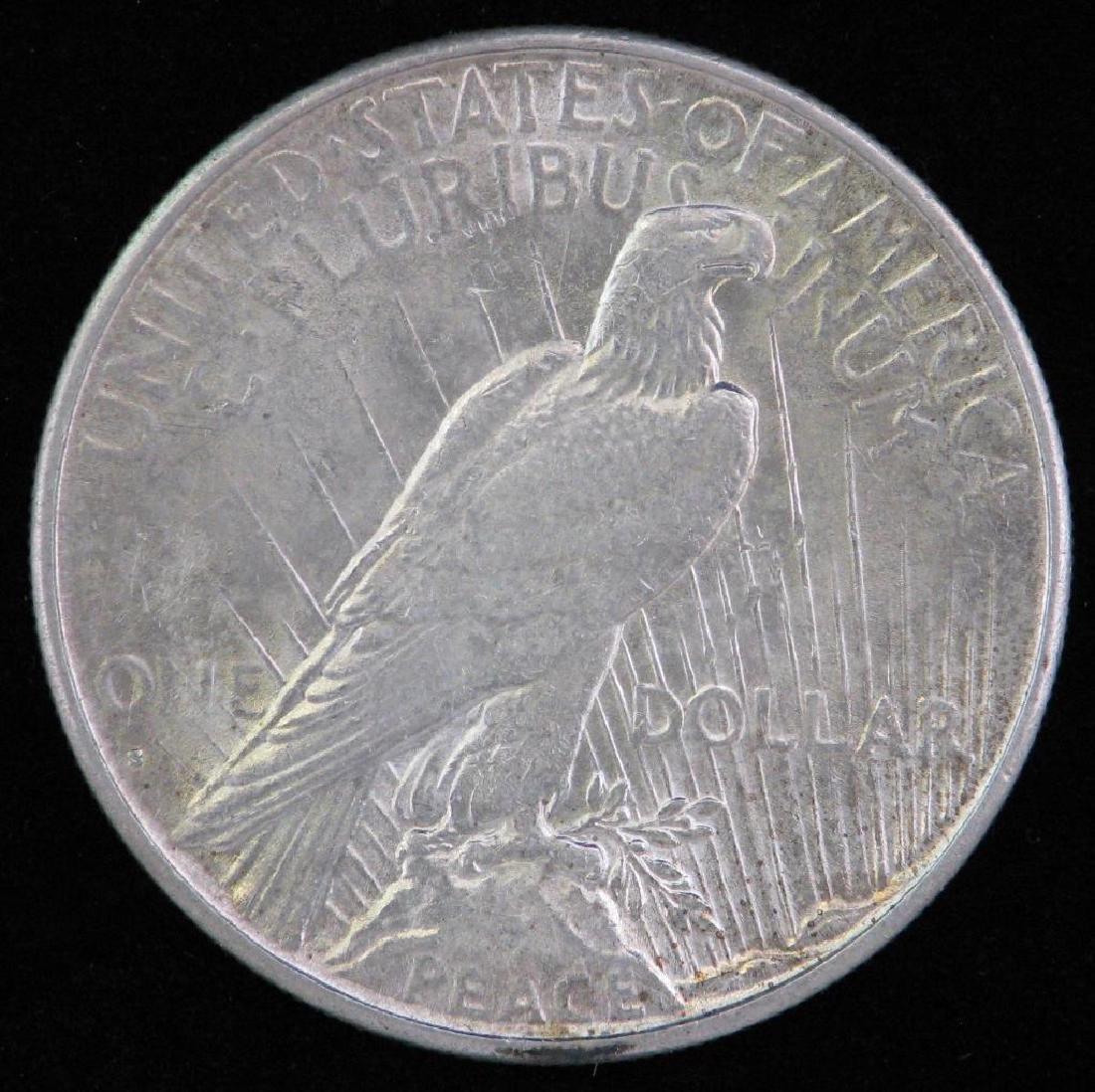 1927-S Peace Dollar - 2