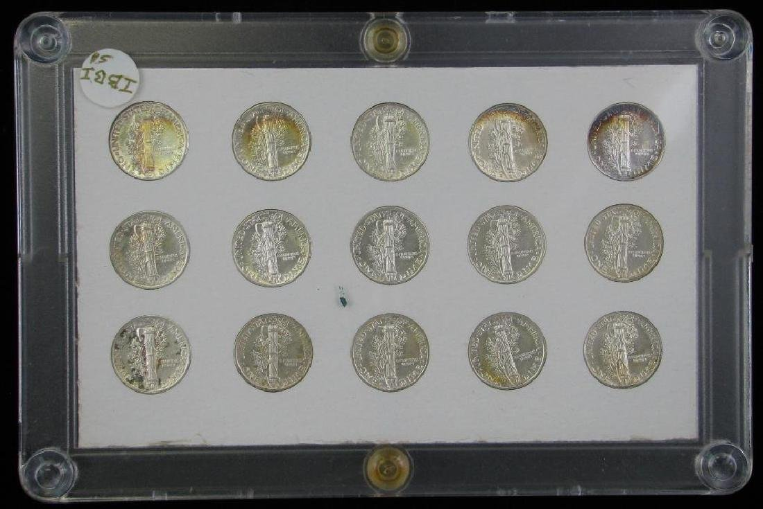 Mercury Dime Collection : 1941-1945 - 2