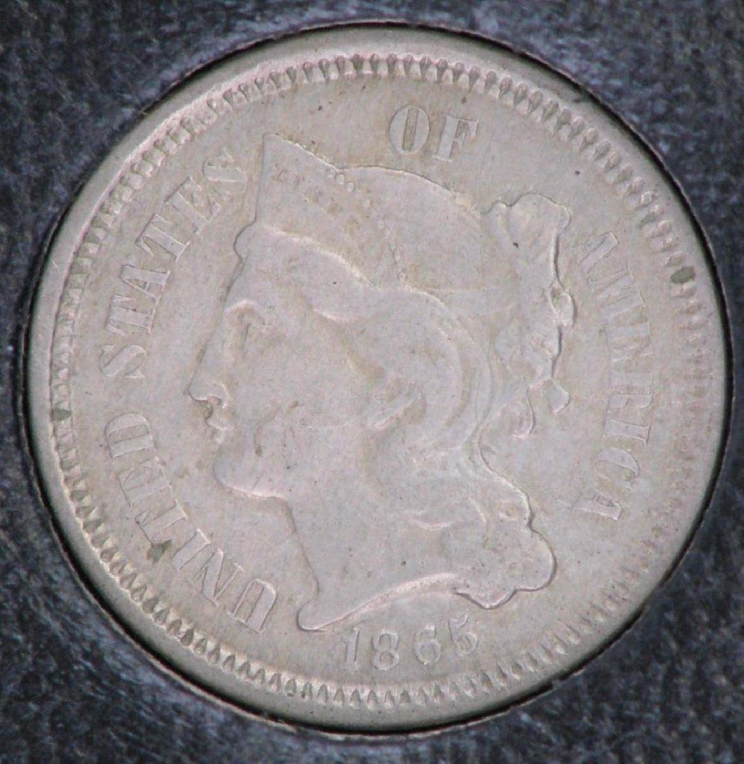 Set of 5 Type Coins : 1851-1883 - 3