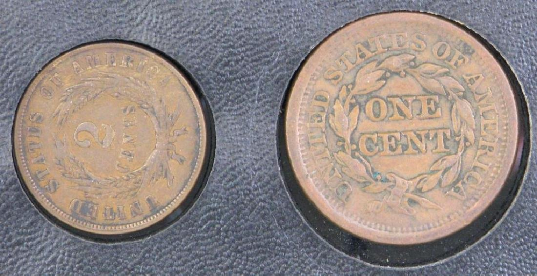Set of 5 Type Coins : 1851-1883 - 5