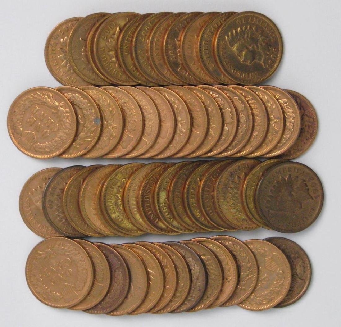 Roll of Indian Head Cents : 1900 - 1908