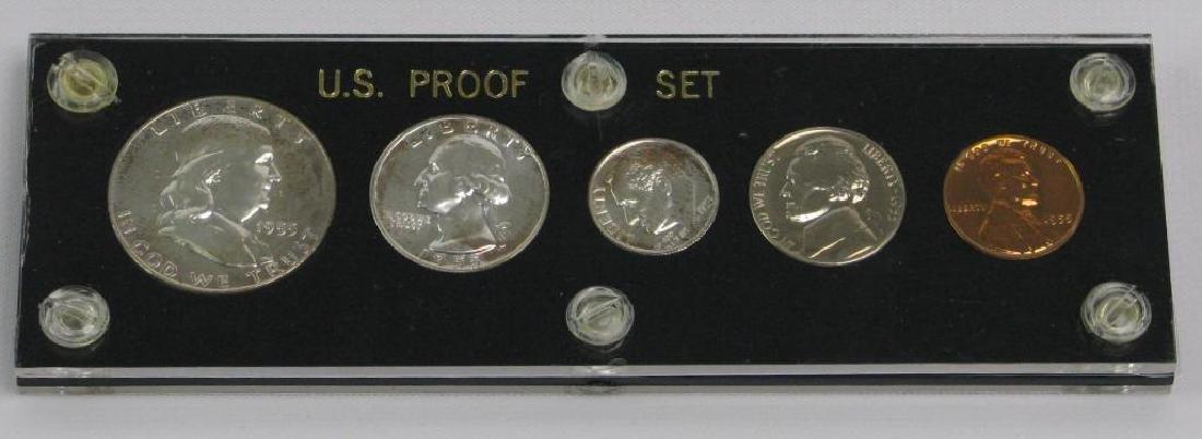 U.S. Proof Set : 1955-P