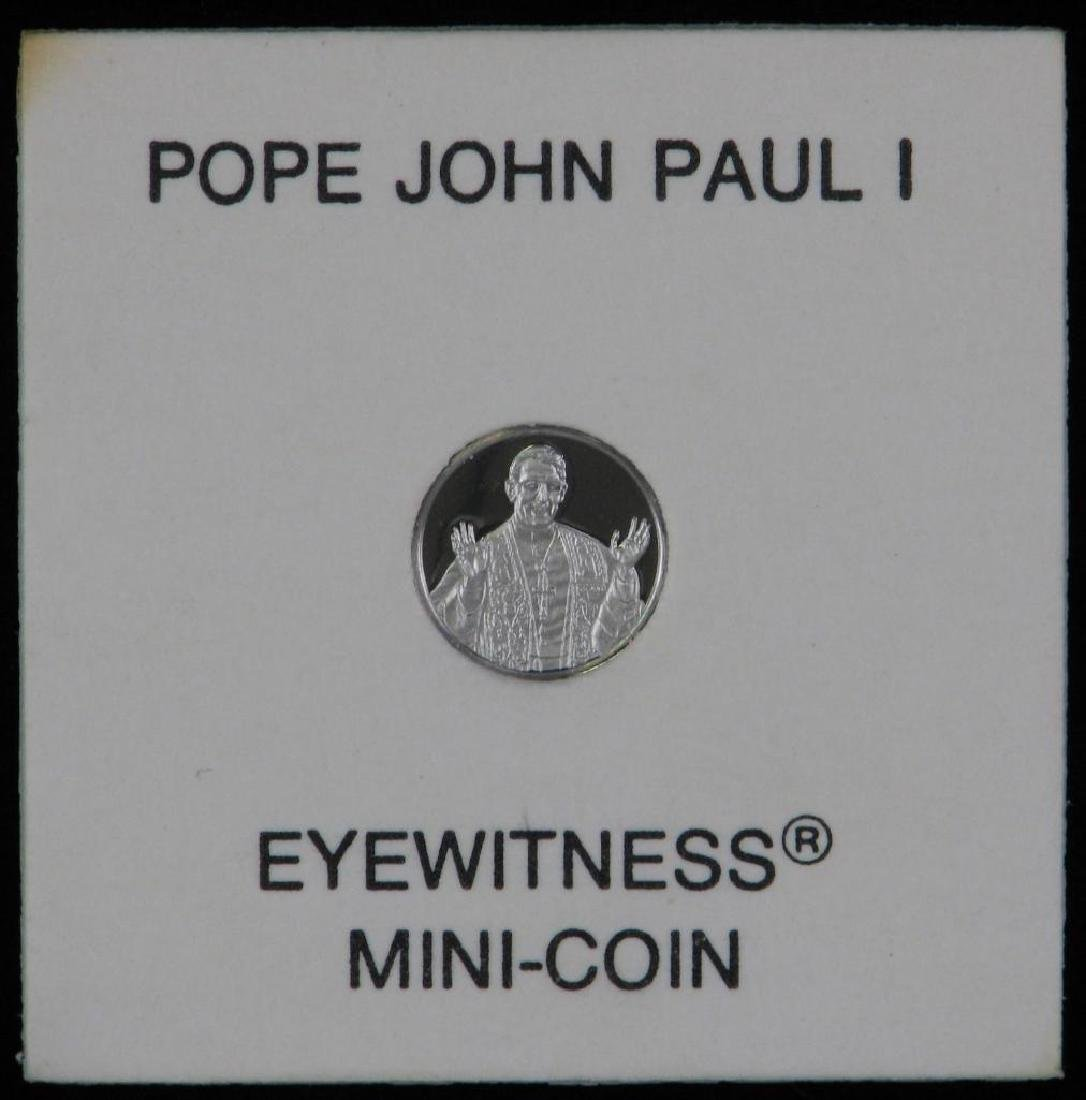 "Platinum 10mm Limited Edition ""Mini-coin"" : Pope John - 2"