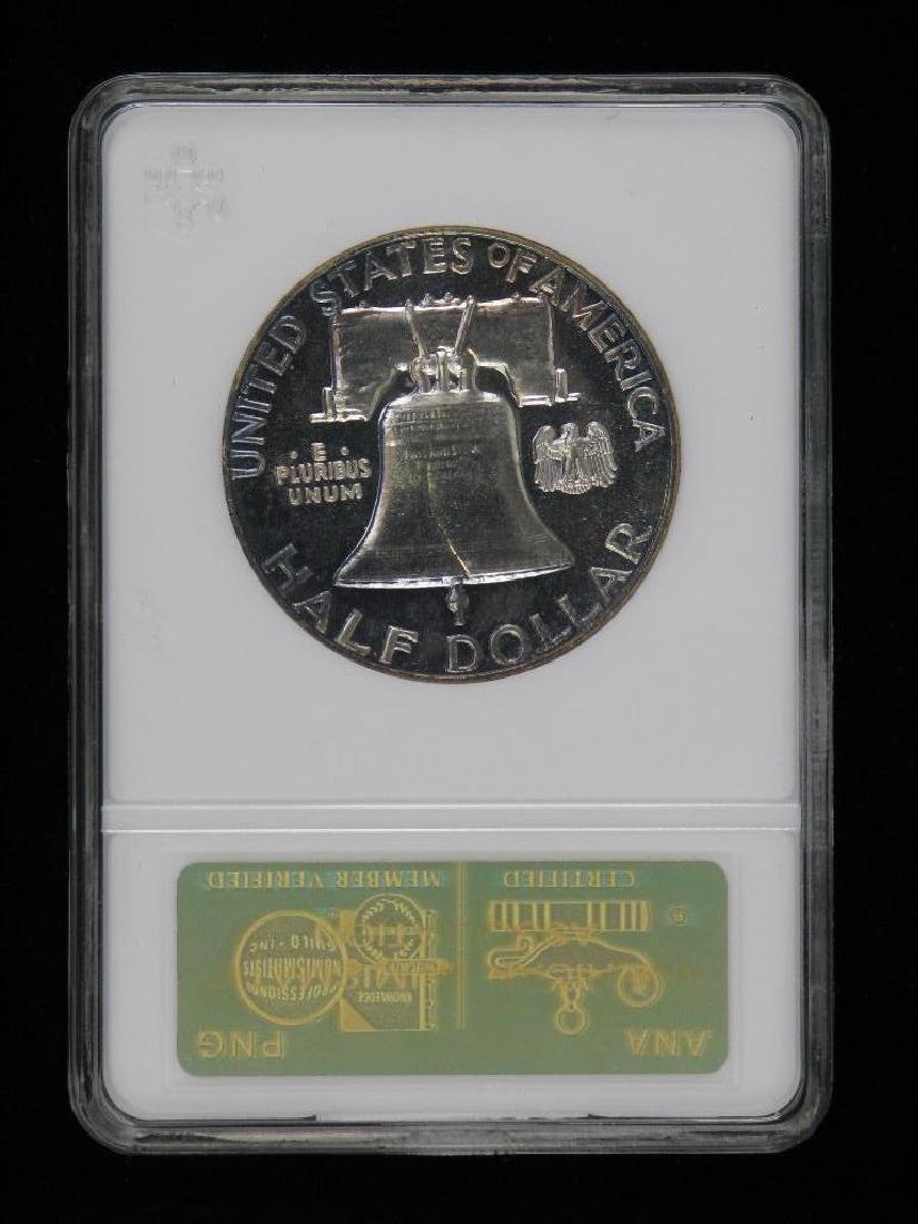 Lot of 4 : Franklin Half Dollars (1955-1961) - 10