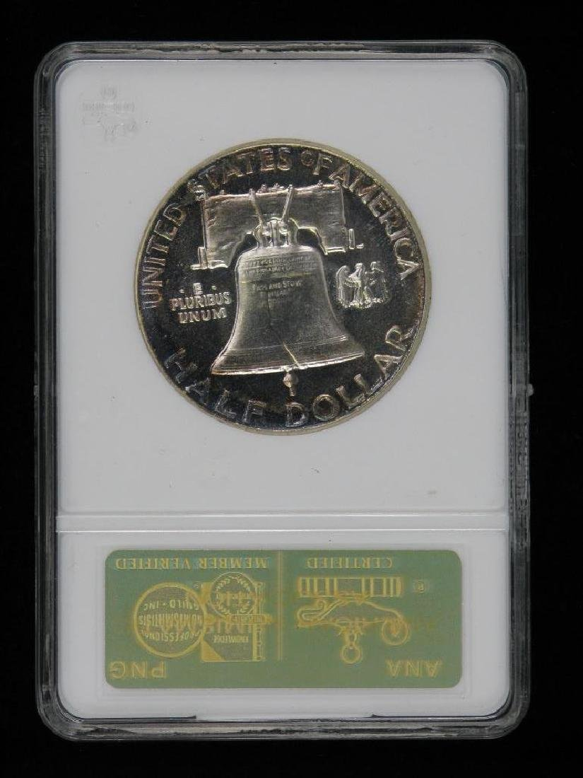 Lot of 4 : Franklin Half Dollars (1955-1961) - 6