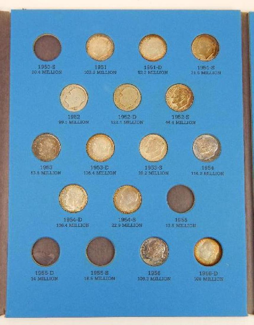 Collection of Roosevelt Dimes (1946-1964) - 3