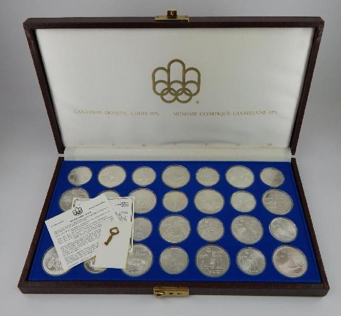 Collection of 28 : Canadian Olympic Commemoratives -