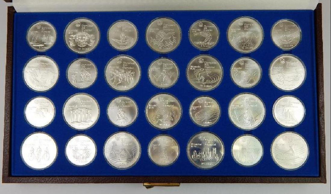 Collection of 28 : Canadian Olympic Commemoratives - - 2