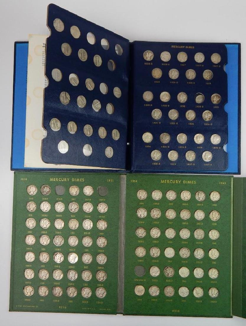 Lot of 2 : Dime Collections (1916-1975) - 2