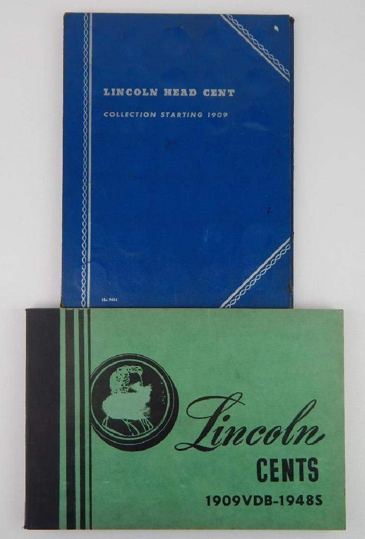 Lot of 2 : Lincoln Cent Collections (1909-1948)