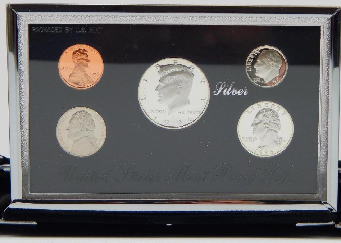 Lot of 3 : U.S. Mint Premier Silver Proof Sets - 4