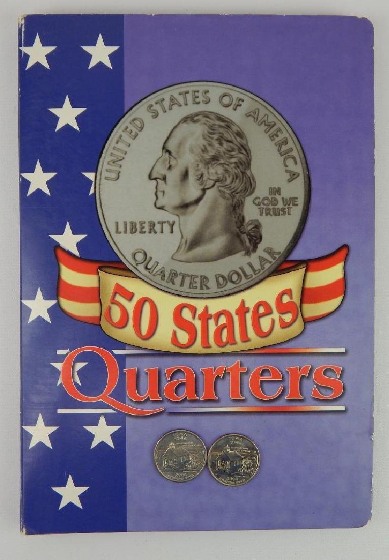 State Quarter Coin Folder + 2004-D Iowa Quarter