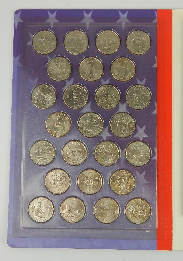 State Quarter Coin Folder + 2004-D Iowa Quarter - 2