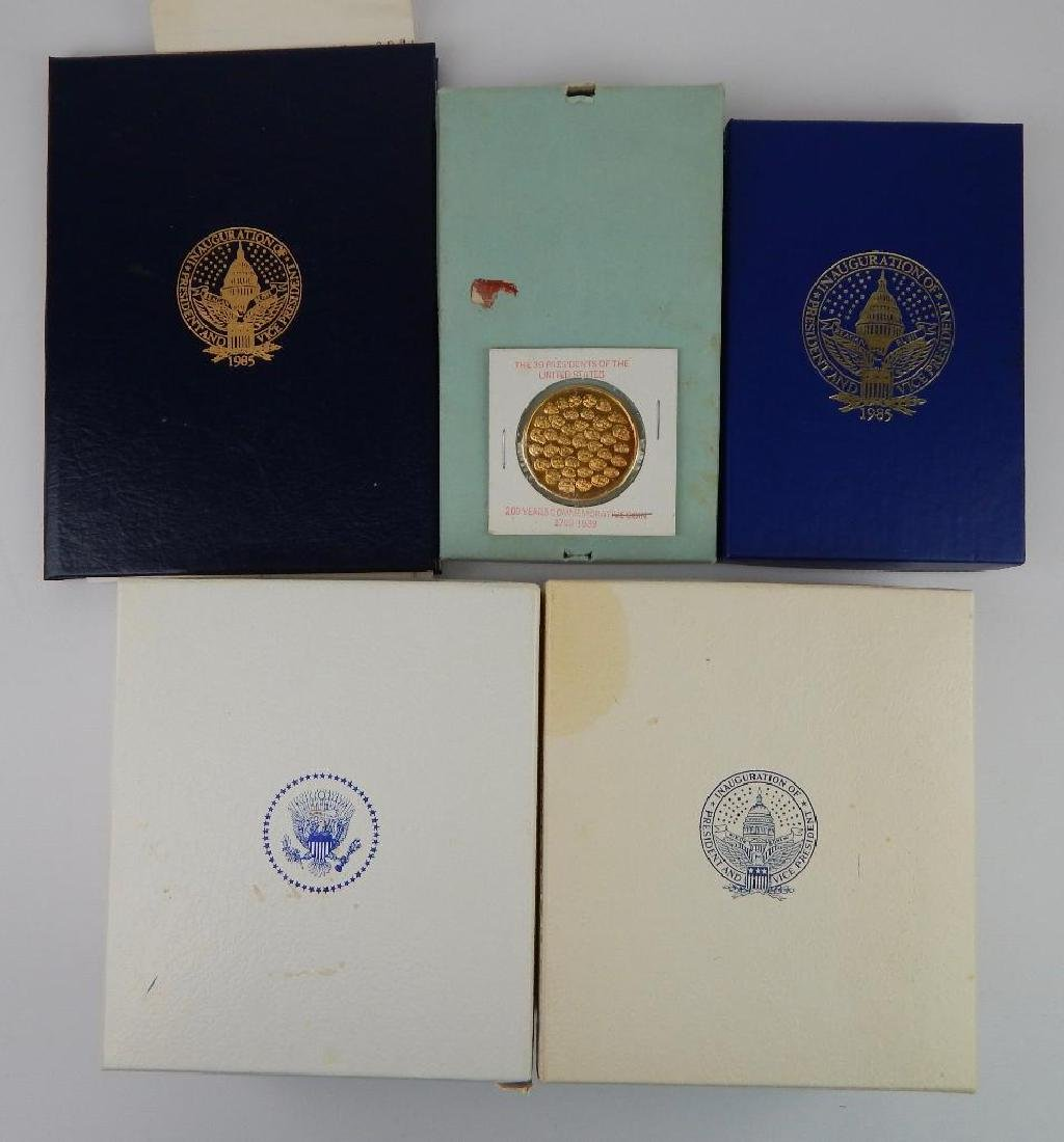 Lot of 6 : Inaugural Commemorative Medals