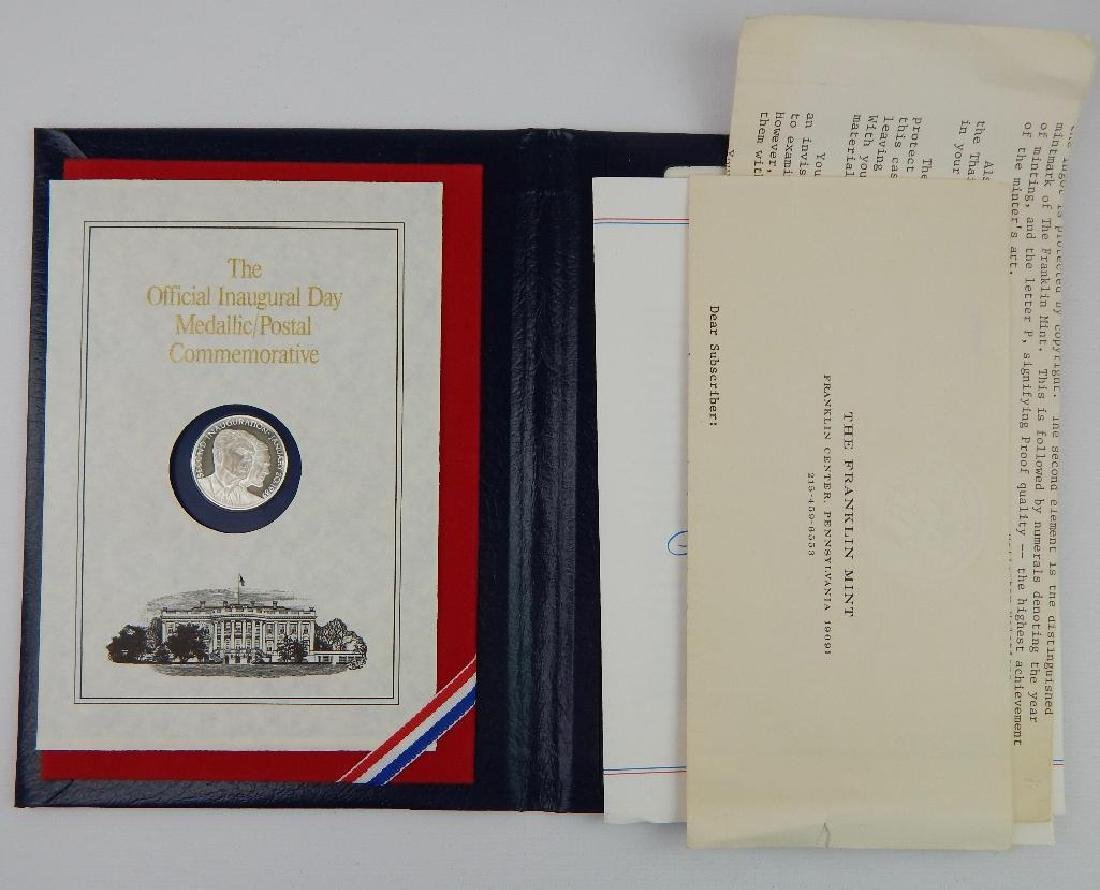 Lot of 6 : Inaugural Commemorative Medals - 3