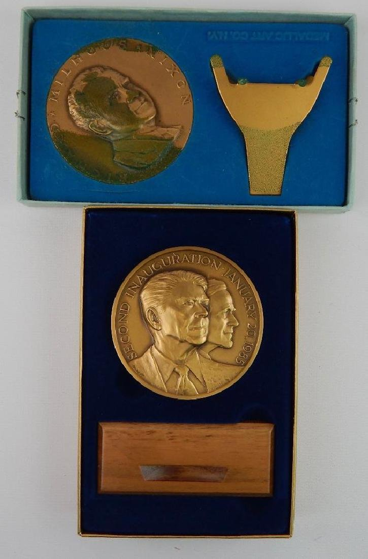 Lot of 6 : Inaugural Commemorative Medals - 5