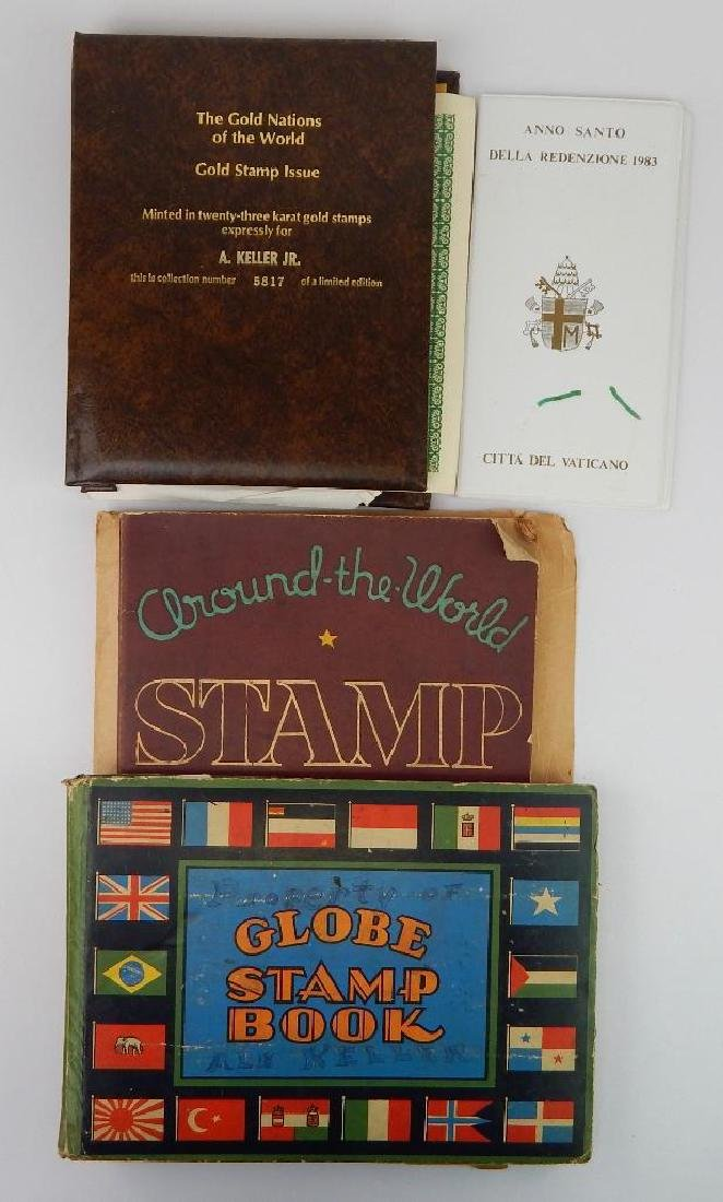 International Lot : Gold Stamps; Vintage Stamp