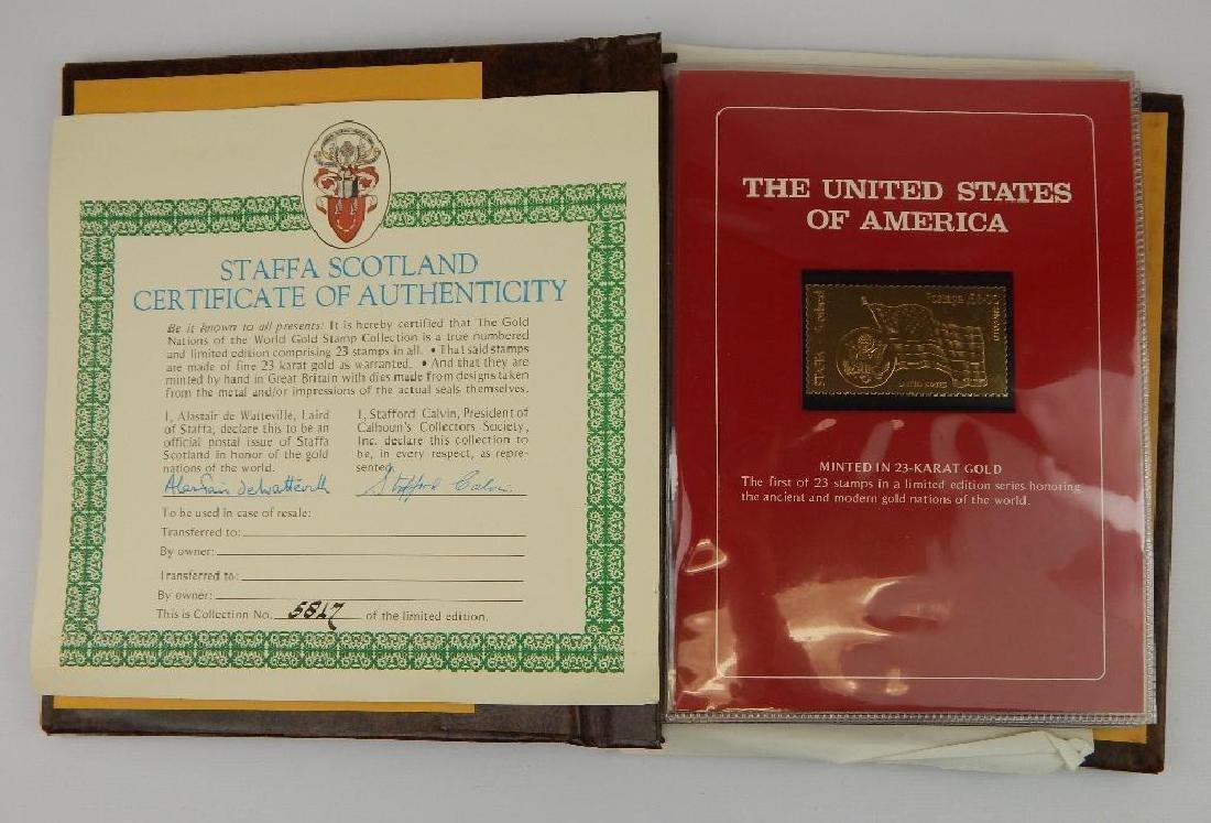 International Lot : Gold Stamps; Vintage Stamp - 2