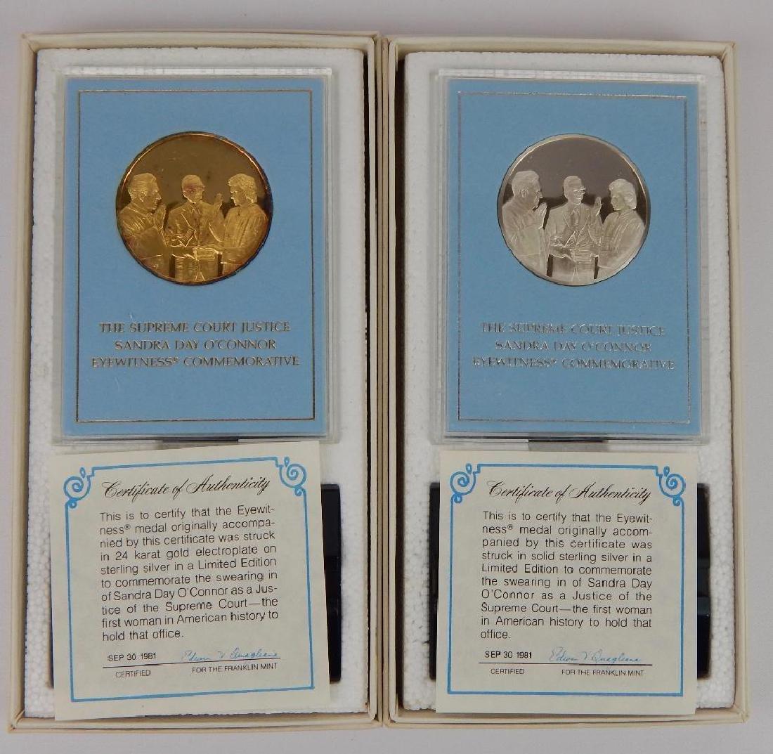 Lot of 18 Commemorative Medals : Franklin Mint - 3