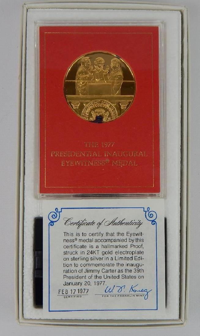 Lot of 18 Commemorative Medals : Franklin Mint - 4