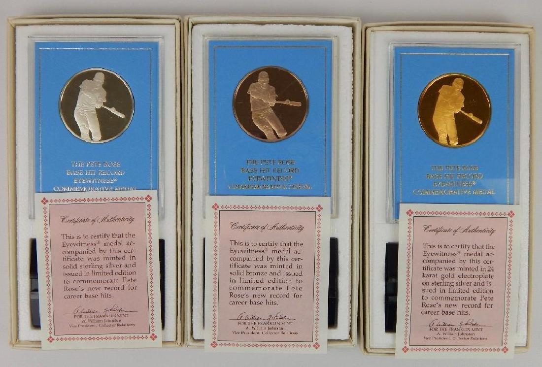 Lot of 18 Commemorative Medals : Franklin Mint - 6