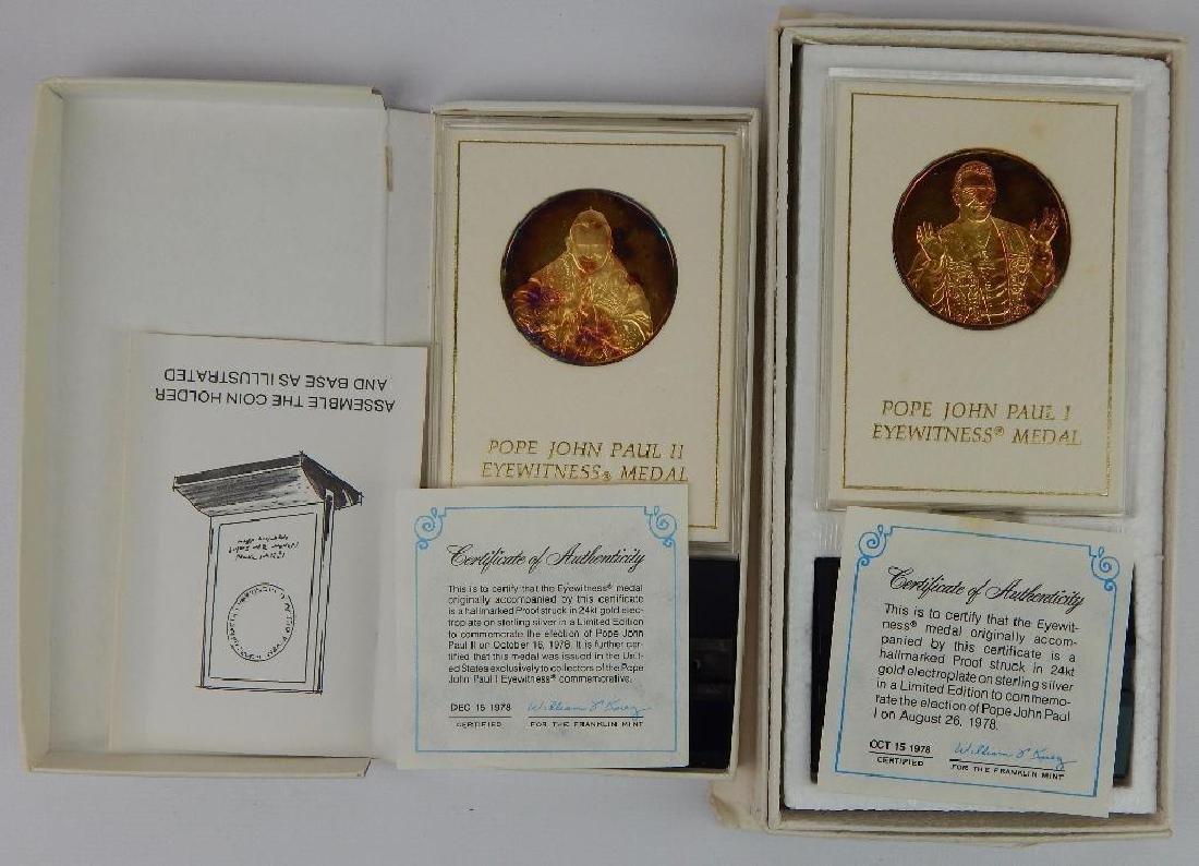 Lot of 18 Commemorative Medals : Franklin Mint - 7