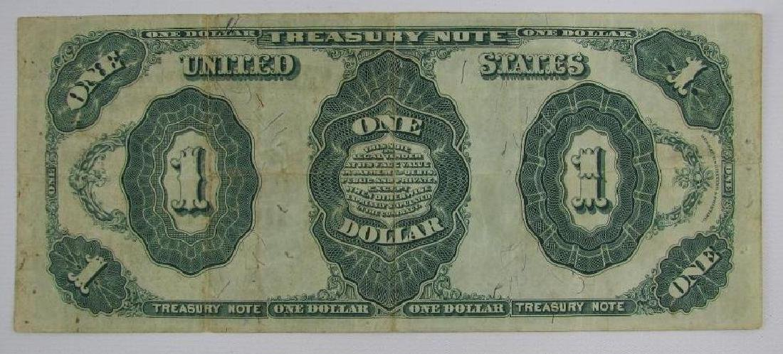 Large Size Note : Series of 1891 $1 Treasury Note - 2