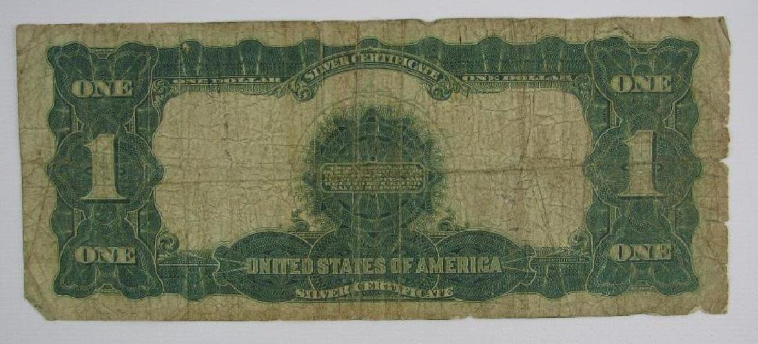 Large Size Note : Series of 1889 $1 Black Eagle Silver - 2