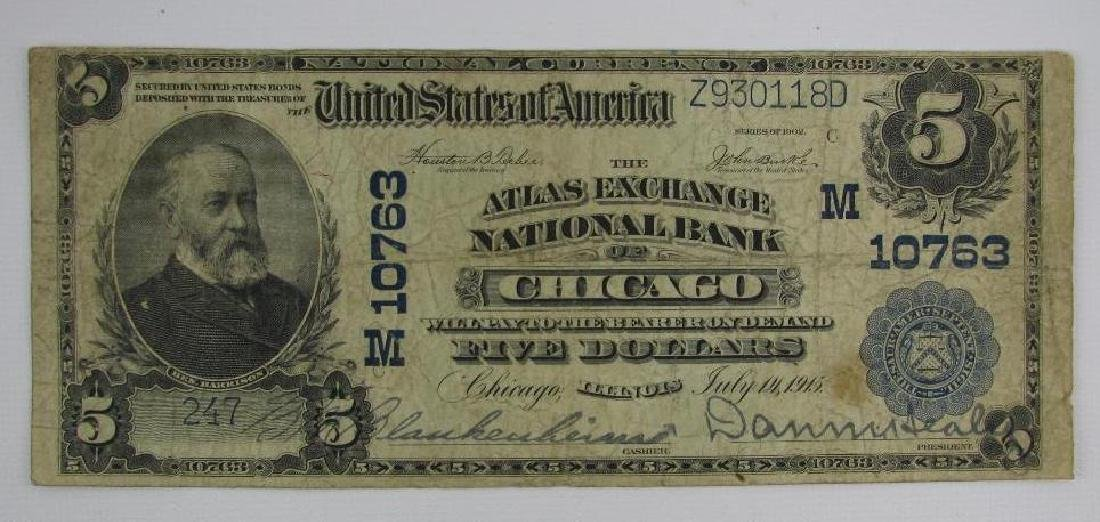 Large Size Note : Series of 1902 Atlas Exchange