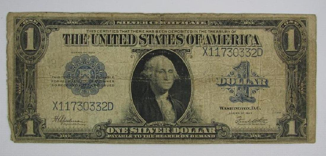 Large Size Note : Series of 1923 $1 Silver Certificate