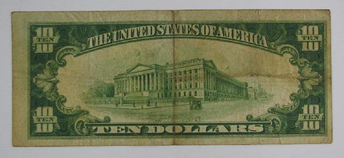 Series of 1928 $10 Gold Certificate - 2