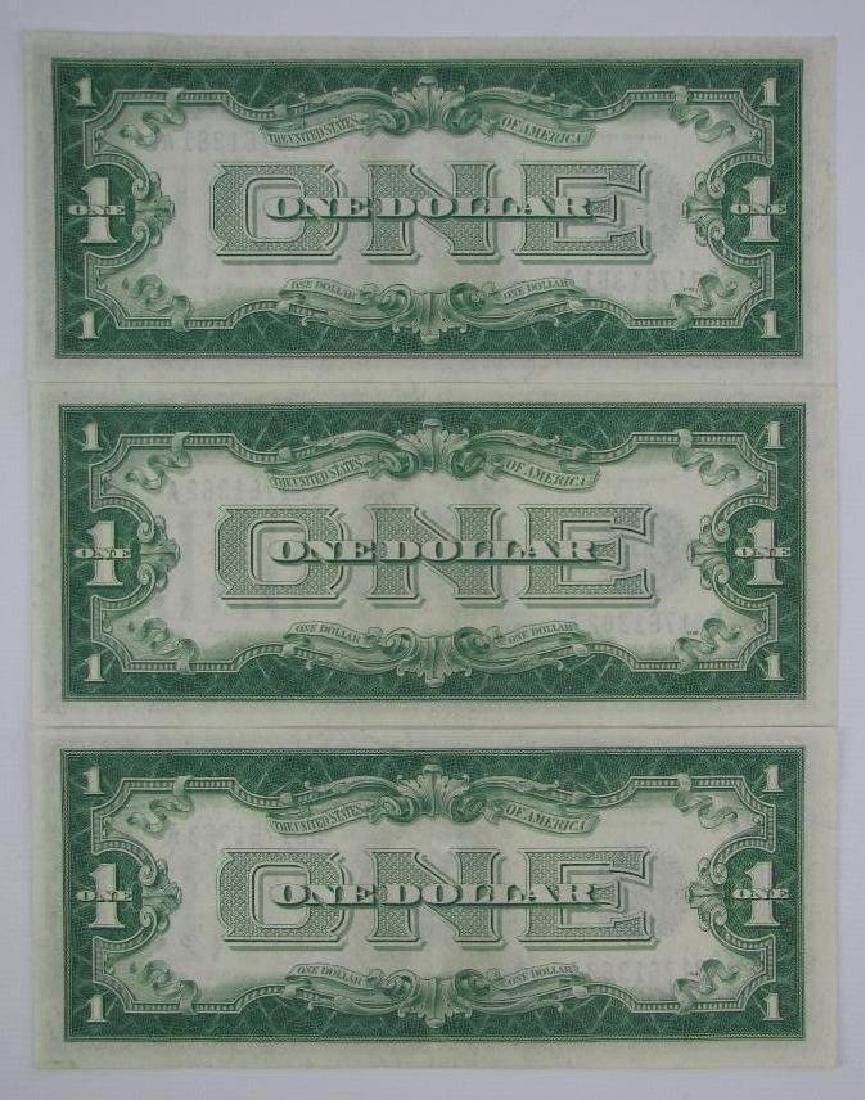 Lot of 3 : Series 1928A Silver Certificates - - 2