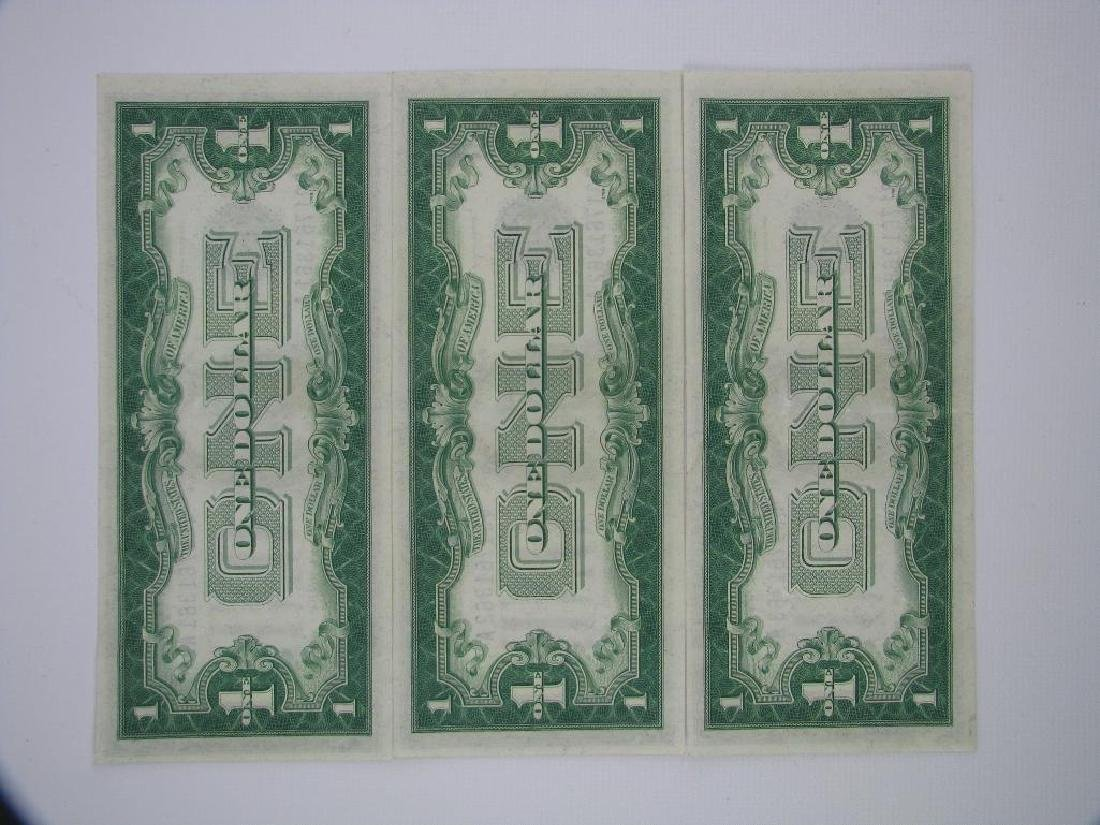 Lot of 3 : Series 1928A Silver Certificates - - 3